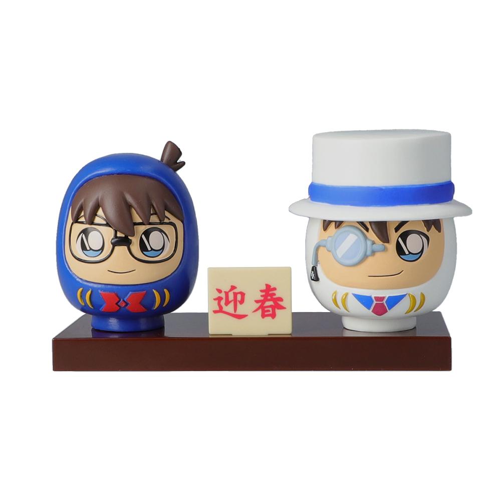 名探偵コナン だるまフィギュア(コナン&キッド)